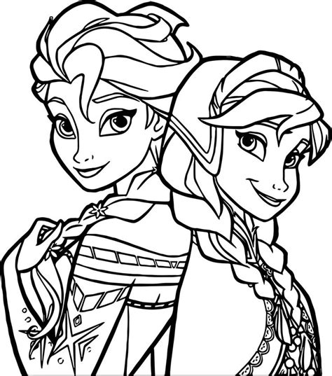 Kleurplaat Alle Disney Frozen by 25 Beste Idee 235 N Frozen Kleurplaten Op