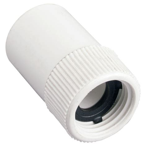 kitchen faucet installation 3 4 in slip x fht pvc hose fitting 53360 the home depot