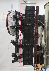 Starlink Solar Arrays Diagram  Spacex  3