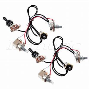 2 Sets Guitar Wiring Harness 3 Way Toggle Switch 2