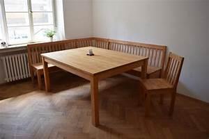 Eckbank Mit Tisch Und Stühle Günstig : tisch massiv kaufen gebraucht und g nstig ~ Indierocktalk.com Haus und Dekorationen