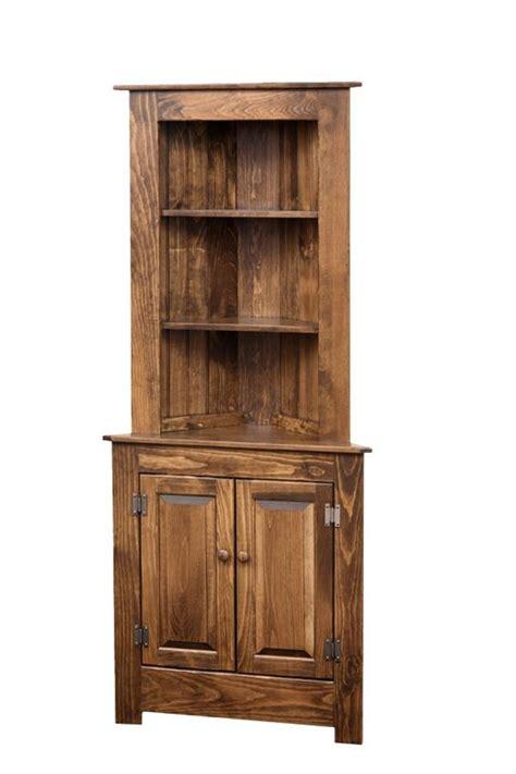 corner kitchen hutch furniture farmhouse corner hutch pine wood hutches