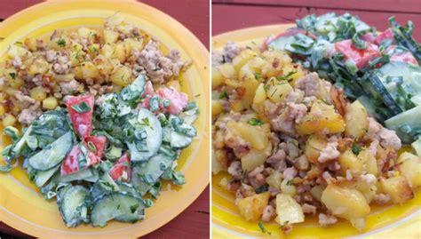 Pannā cepti kartupeļi ar malto gaļu - DELFI