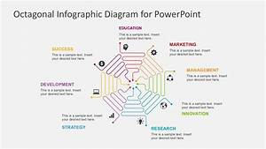 Octagonal Infographic Diagram For Powerpoint