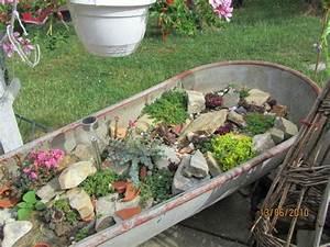 Böschung Bepflanzen Fotos : steingarten in der zinkwanne bilder und fotos garten garten steingarten und zinkwanne ~ Orissabook.com Haus und Dekorationen