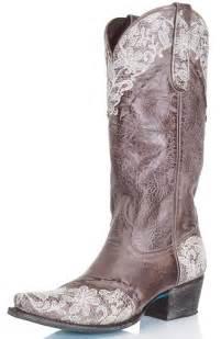 Lane Women's Cowboy Boots - Jani Lace