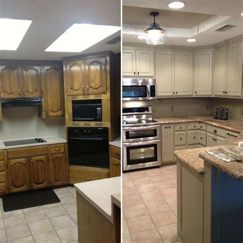 updating drop ceiling kitchen