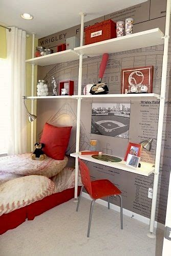 ideas  baseball theme bedrooms  pinterest