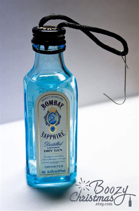 bombay saphire ornament bombay saphire gin themed christmas