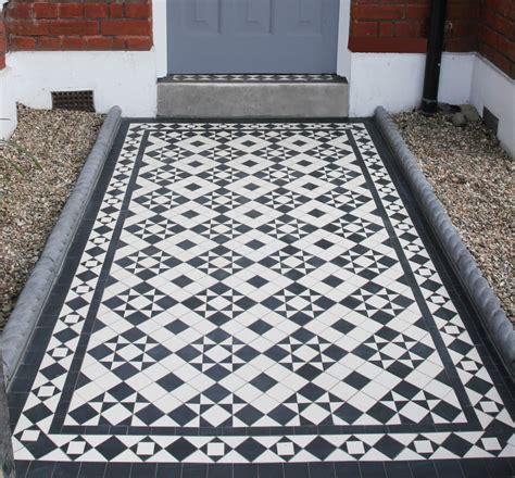 Mosaic Hallway In Hazlewell Road, Putney, London, Sw15