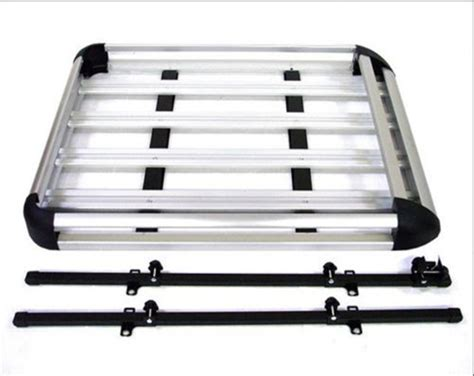 roof rack storage aluminum roof basket carrier rack car top luggage cargo