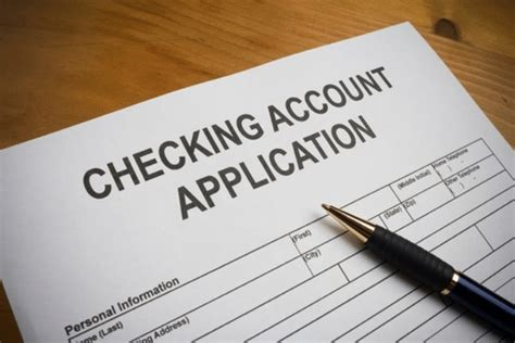 features    opening   checking account