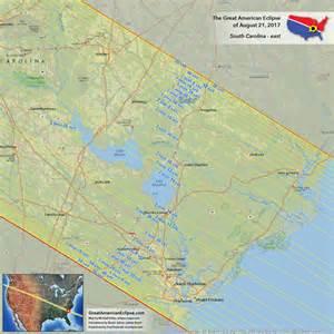 Solar Eclipse 2017 Path South Carolina