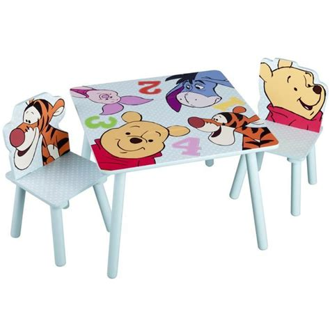 rehausseur de chaise winnie l ourson winnie l 39 ourson table enfant chaises achat vente