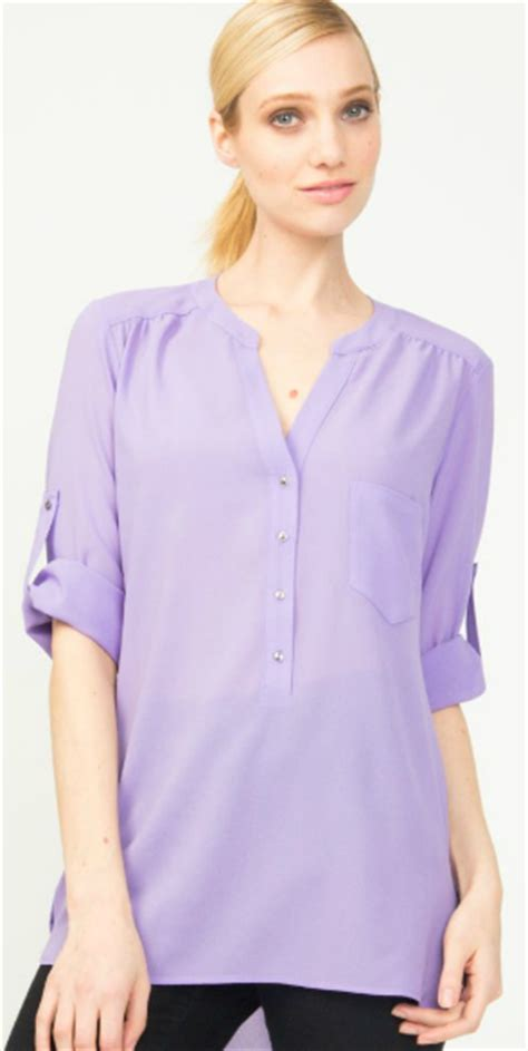 lavender blouses and tops what to wear with a lavender blouse black blouse