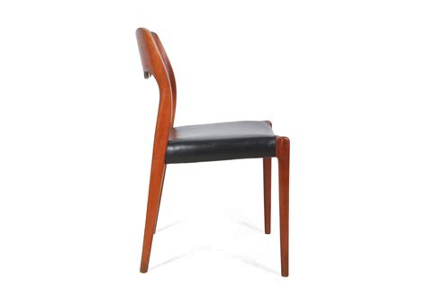 teak dining chairs by moller model 71 the furniture rooms