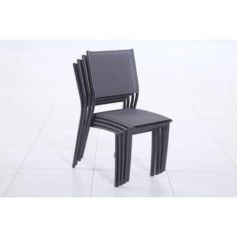 chaise empilable pas cher chaise empilable clara pas cher à prix auchan