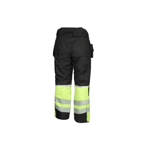 Bikses melnas / dzeltenas HI-VIS SILTAS SMARTGO CANNYGO - Puskombinezoni - Darba apģērbu ...