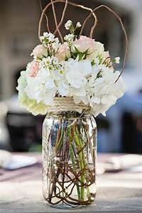 10, Beautiful, Mason, Jar, Wedding, Centerpieces, On, A, Budget