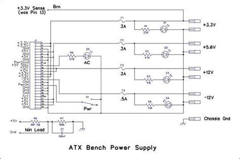 Atx Bench Power Supply