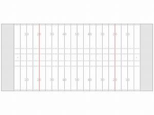 Football Field Diagram Black And White - ClipArt Best