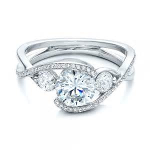 engagement rings seattle custom wrap engagement ring 101472 bellevue seattle joseph jewelry
