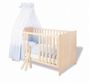 Lit Bébé Écologique : lit bebe ecologique bois visuel 5 ~ Carolinahurricanesstore.com Idées de Décoration