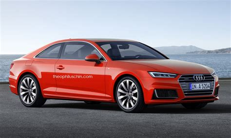2017 Audi A5 Coupe Rendered Once More, Artist Admits It