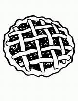 Coloring Cherry Pie Colorare Crostata Ciliegie Disegni Gratis Colouring Dolci Season sketch template