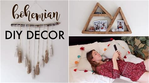 Diy Minimalist/boho Room Decor (tumblr/pinterest Inspired