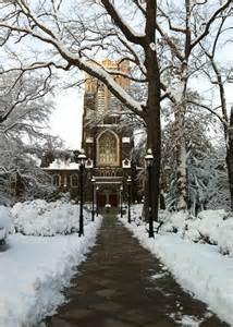 Lehigh University Snow