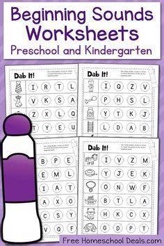 beginning sounds kindergarten images preschool