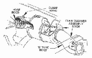 fuel injection air meter air cleaner air tubes plenum With intake manifold diagram view chicago corvette supply