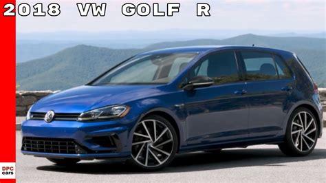 2018 Vw Golf R Us Spec