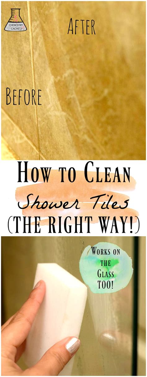 how to wash properly in the shower how to clean shower tile the right way safe for