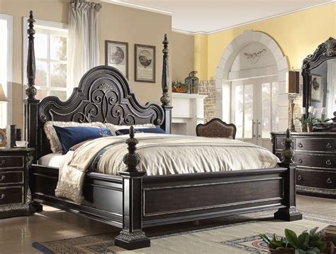Cing Bed by Matteo Style 4 Pc California King Bed Set In