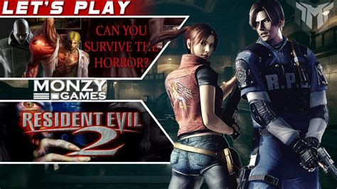Resident Evil 2 Gameplay Leon A B And Claire A B Youtube