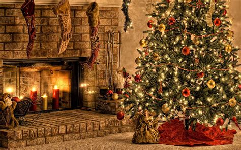 Cozy Christmas Home Decor: Cozy Christmas Wallpaper