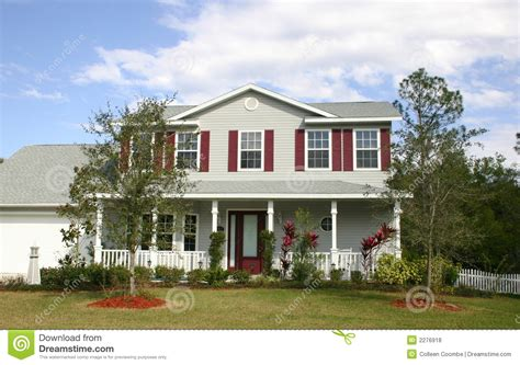 Gracious Family Home by Family Home Royalty Free Stock Photos Image 2276918