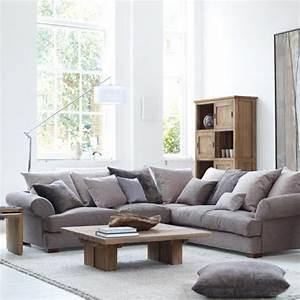 Kissen Für Sofa : ecksofa 105 wunderbare modelle f r ihre wohnung ~ Frokenaadalensverden.com Haus und Dekorationen