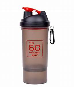 My 60 Minutes Gym Shaker Sipper Bottle 600 Ml  Buy Online At Best Price On Snapdeal