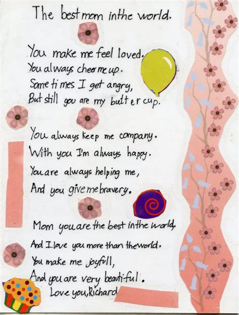 mothers day poems for preschoolers 25 mothers day poems picshunger 304