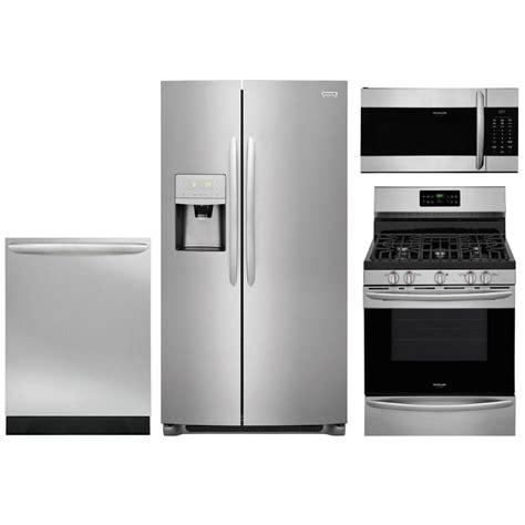 Frigidaire Gallery 4 Piece Kitchen Appliance Package