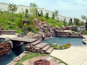 bassin pour jardin With pont pour bassin de jardin