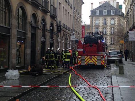 magasin canapé rennes rennes incendie dans le centre ancien 40 pompiers