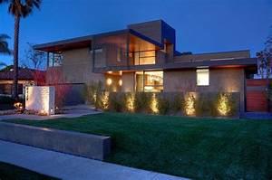 Éclairage Façade Maison : fachadas de casas modernas 51 boas ideias arquidicas ~ Melissatoandfro.com Idées de Décoration