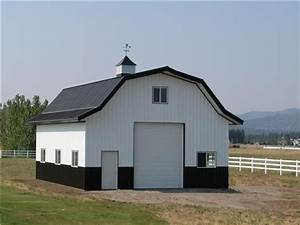 gambrel roof style steel buildings steel storage With barn style metal buildings