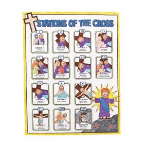 12 Stations of the Cross for Children