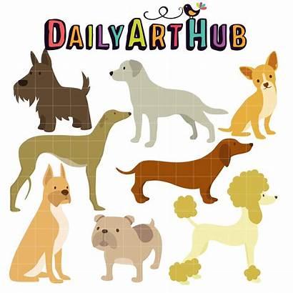 Dog Hub Breeds Clip Lovable Dailyarthub Dogs