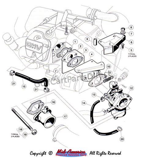 1992 1996 club car ds gas or electric club car parts accessories